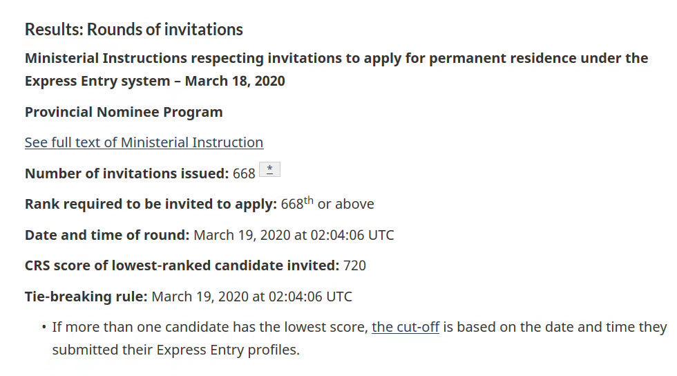 顺达快讯!最新移民动向——快速通道省提名邀请668人申请永久居留!2