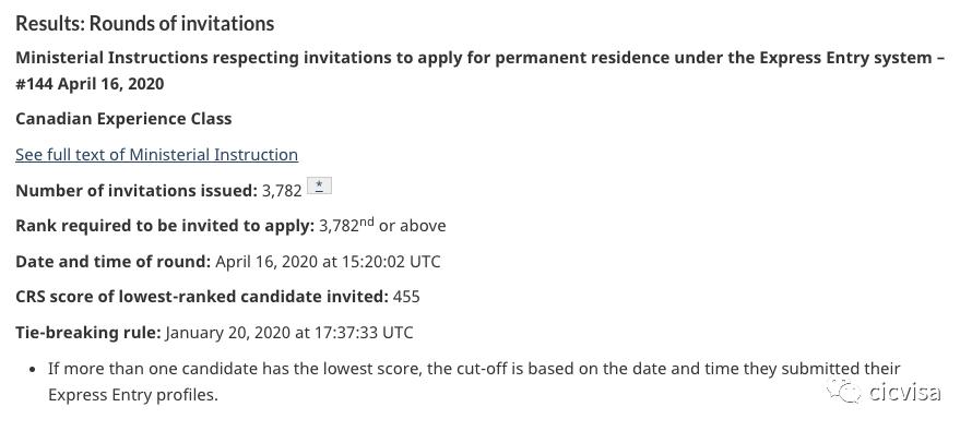 重磅利好!EE针对CEC类别新一轮邀请最低分455创今年新低!2