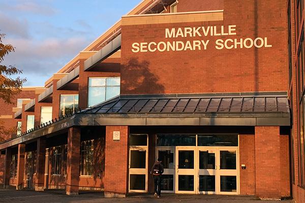 """校界""""黑马"""",Markville Secondary School1"""