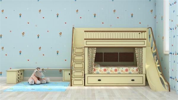 给公主和王子装饰一个炫酷的儿童房5
