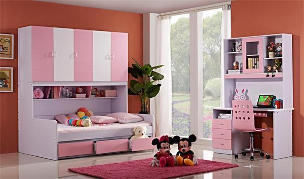 给公主和王子装饰一个炫酷的儿童房7