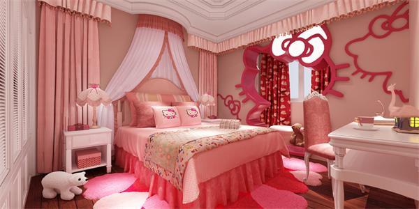 给公主和王子装饰一个炫酷的儿童房4