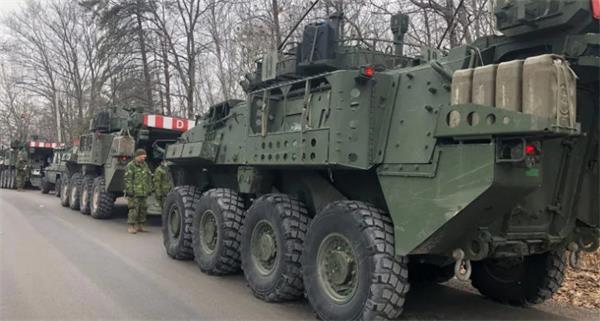 紧急状态,加拿大陆军抵达渥太华2