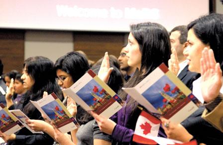 您收到加拿大移民部的邮件了吗?2