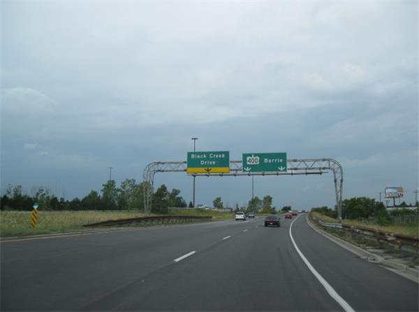 安大略省高速路限速设定法则1