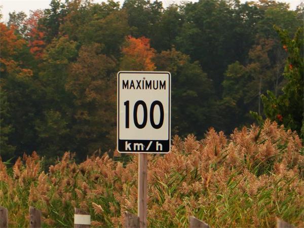 安大略省高速路限速设定法则2