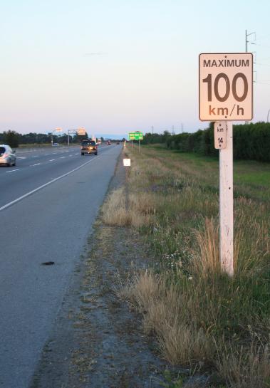 安大略省高速路限速设定法则5