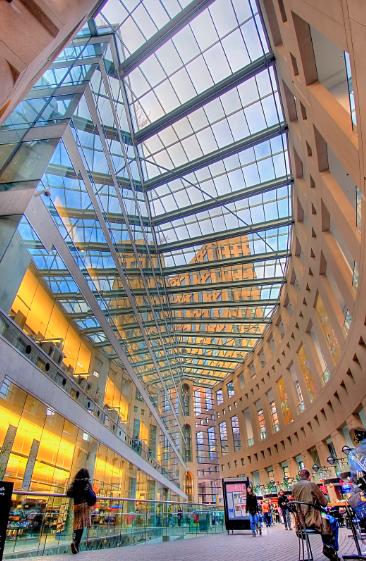 有史以来被誉为加拿大颜值最高的图书馆2