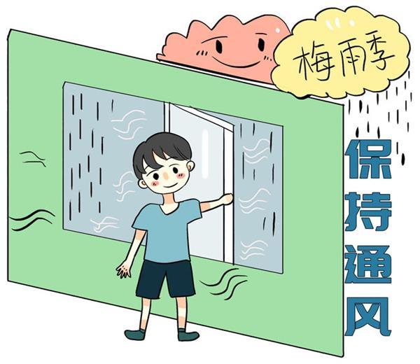 连续阴雨,小心引发墙壁霉菌生长5