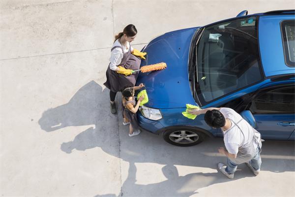 洗车这活儿,看似简单,实则真不易!5