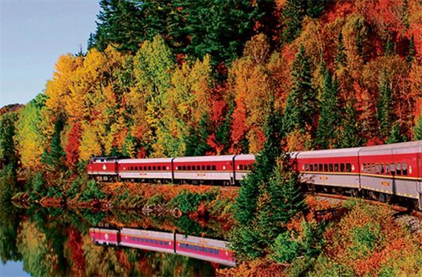 震撼!加拿大的秋天这么过最美!3