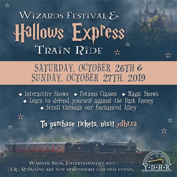 """登上神奇的火车,到""""多伦多巫师节""""狂欢吧!3"""