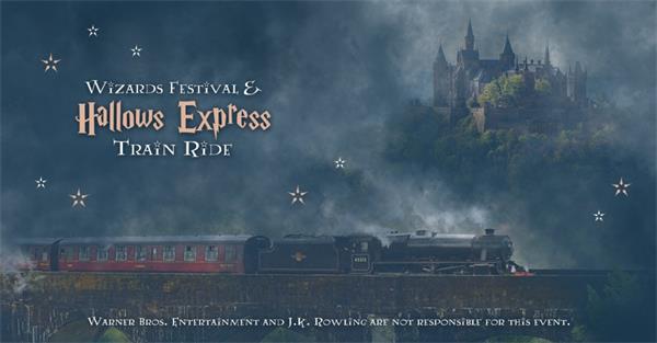 """登上神奇的火车,到""""多伦多巫师节""""狂欢吧!5"""