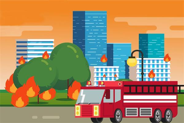 警笛四起!北约克高层公寓发生大火4