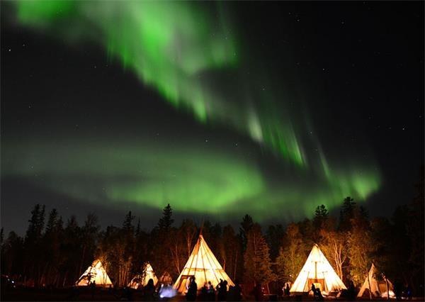 追光之旅,加拿大极光和北欧的有何不同?5