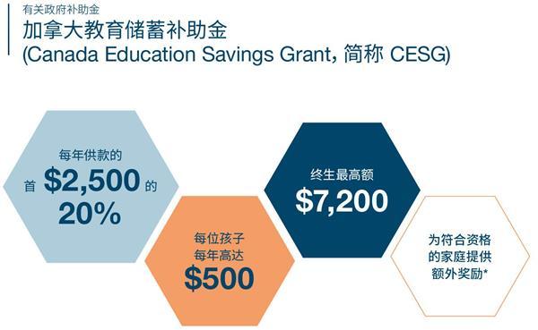【加拿大教育基金】给孩子的第一桶金!9