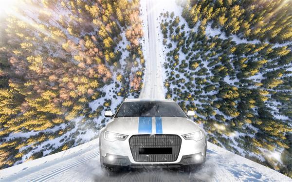 可怕!加拿大冬季的黑冰驾驶1