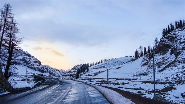 可怕!加拿大冬季的黑冰驾驶2