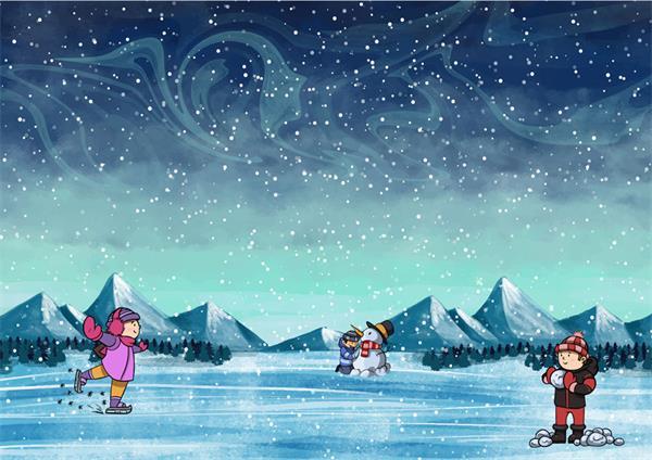 【疯狂周末玩不停】加拿大冬季滑冰、看灯走起!1