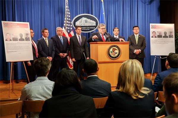 """美国以网络攻击为由起诉""""中国黑客"""",中国外交部严厉回应!1"""