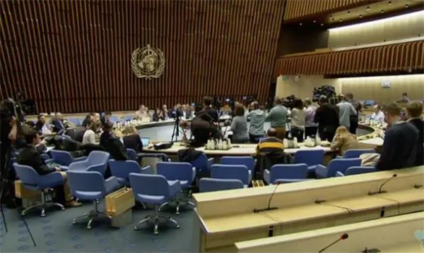 今日回答敏感问题!世卫组织关于埃博拉和新冠病毒新闻发布会5