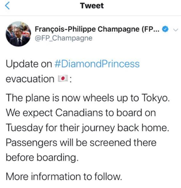 """愈发严重!""""钻石公主""""新增88例感染者,加拿大侨民无法按时返回4"""
