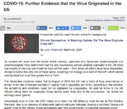 惊爆!捷克生物学家研究指出新冠病毒起源!8