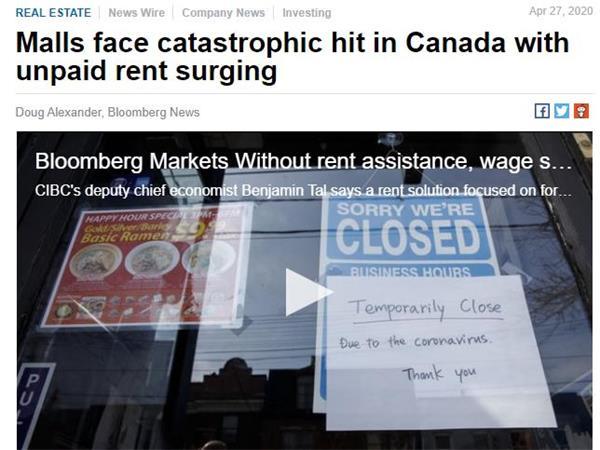 重磅!超8万1千例!通胀率为负值!加拿大民生的涨跌!1