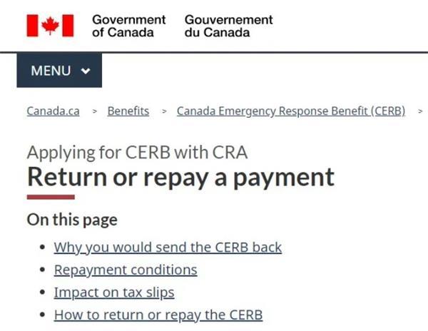 政策要来了!诈领CERB罚款5000加元!坐牢6个月!5