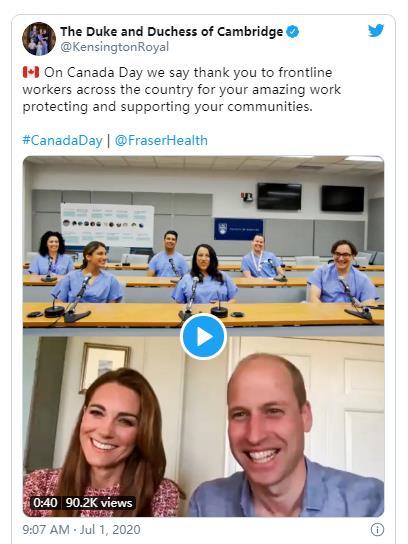 加拿大喜迎特殊国庆日!特鲁多在农场做义工!皇室成员视频庆祝!9