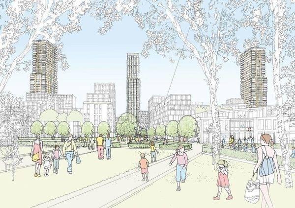 投10亿英镑!目标离港人士!李嘉诚在伦敦打造超级地产项目5