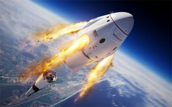 送上火星不是梦!搭乘龙飞船的宇航员正在返回地球途中!2