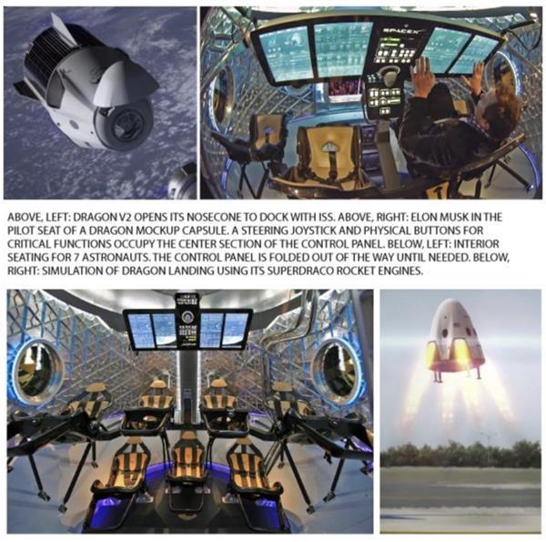 送上火星不是梦!搭乘龙飞船的宇航员正在返回地球途中!3