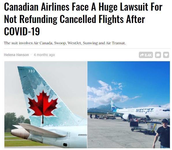 乘客维权!航空公司血亏也不能只发代用券!3