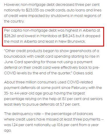 震惊!二季度加拿大房贷总额增加2.8%!人均负债7万!4