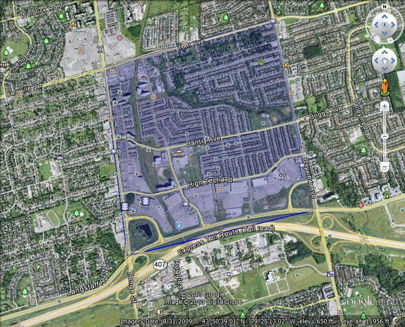 加拿大 房地产 社区介绍 Richmond Hill 列治文山  Langstaff