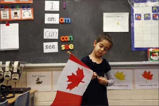 加拿大 家长 幼儿园 体验