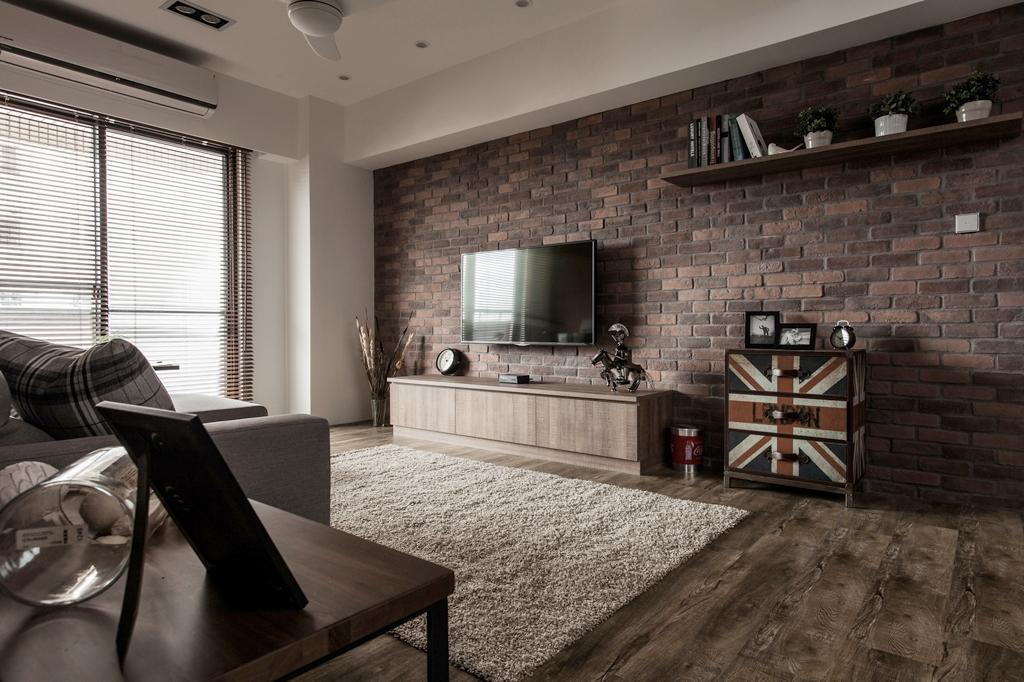 房产-室内设计-红砖墙-ehouse411