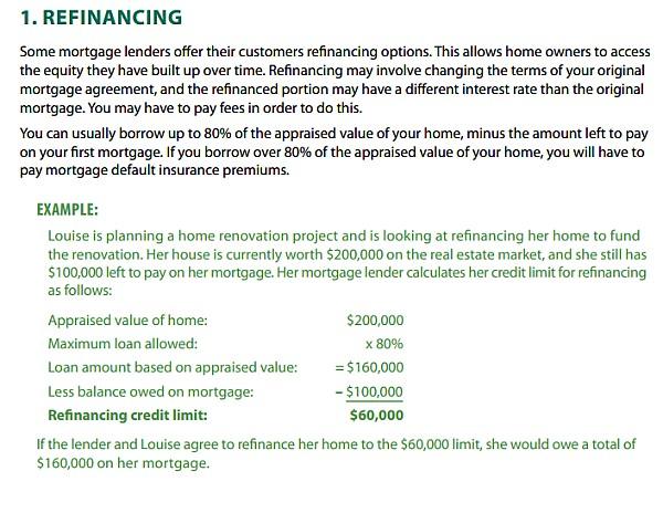 加拿大房地产 房子 循环贷 重做贷款1.jpg