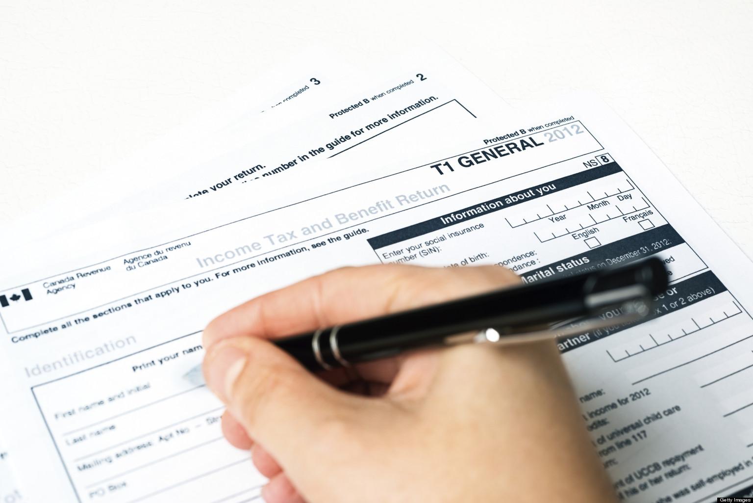 加拿大报税 资深专家 收入 出租