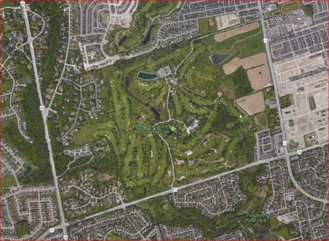 多伦多 万锦 16街 高尔夫球场 加拿大 万锦于人村