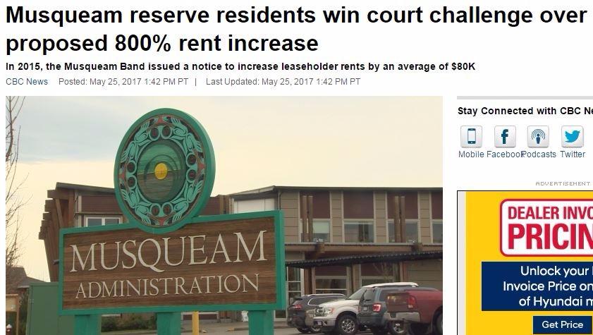 地租 猛涨 温哥华 原住民保留地