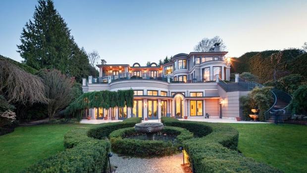 温哥华 最美私宅 出售  加拿大 格雷角