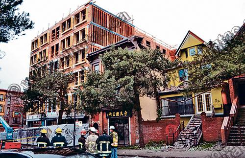 温哥华 公寓 塌楼 建筑商 承包商 违规