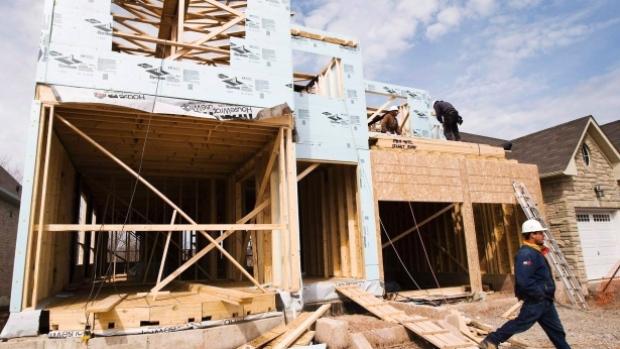新房 渥太华 CMHC 开工率