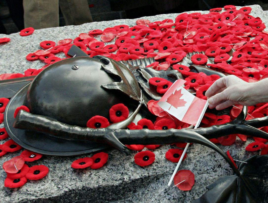 【不能忘却的纪念】11月11日,加拿大军人纪念日