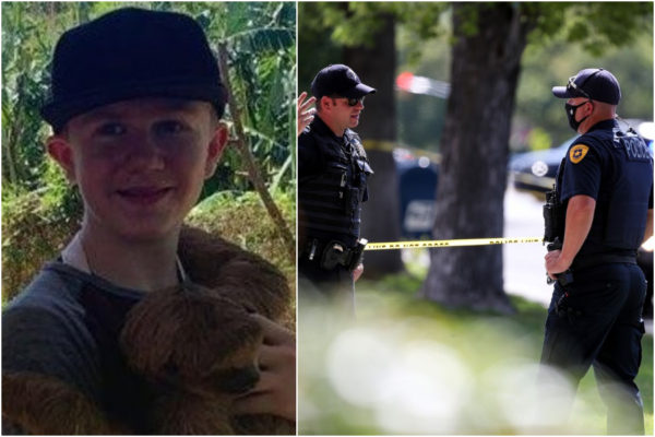 美国警察都疯了吗?13岁自闭少年遭警察开枪扫射!3