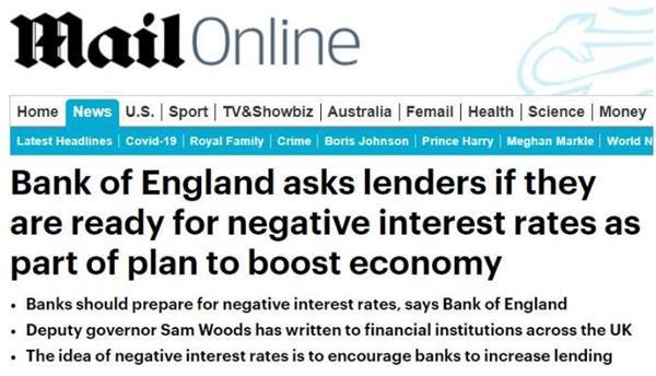 可怕!英国央行考虑负利率!负利率对经济和房地产的影响有多大?2