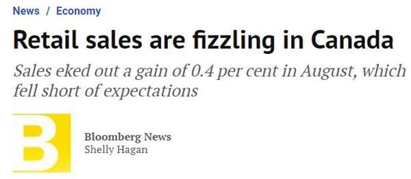 加拿大两大疫情重省新增确诊破千!低利率将会促使更多的债务!6