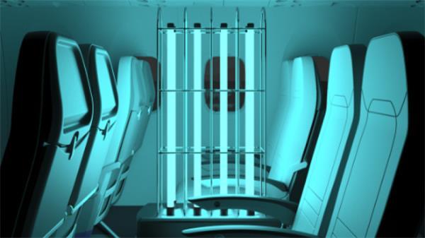 5分钟消灭99.99%病原体!加拿大研发机舱自动消毒机8